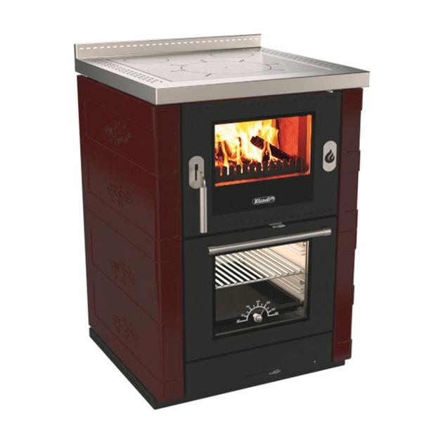 rizzoli ml60 rustic wood burning cook stove